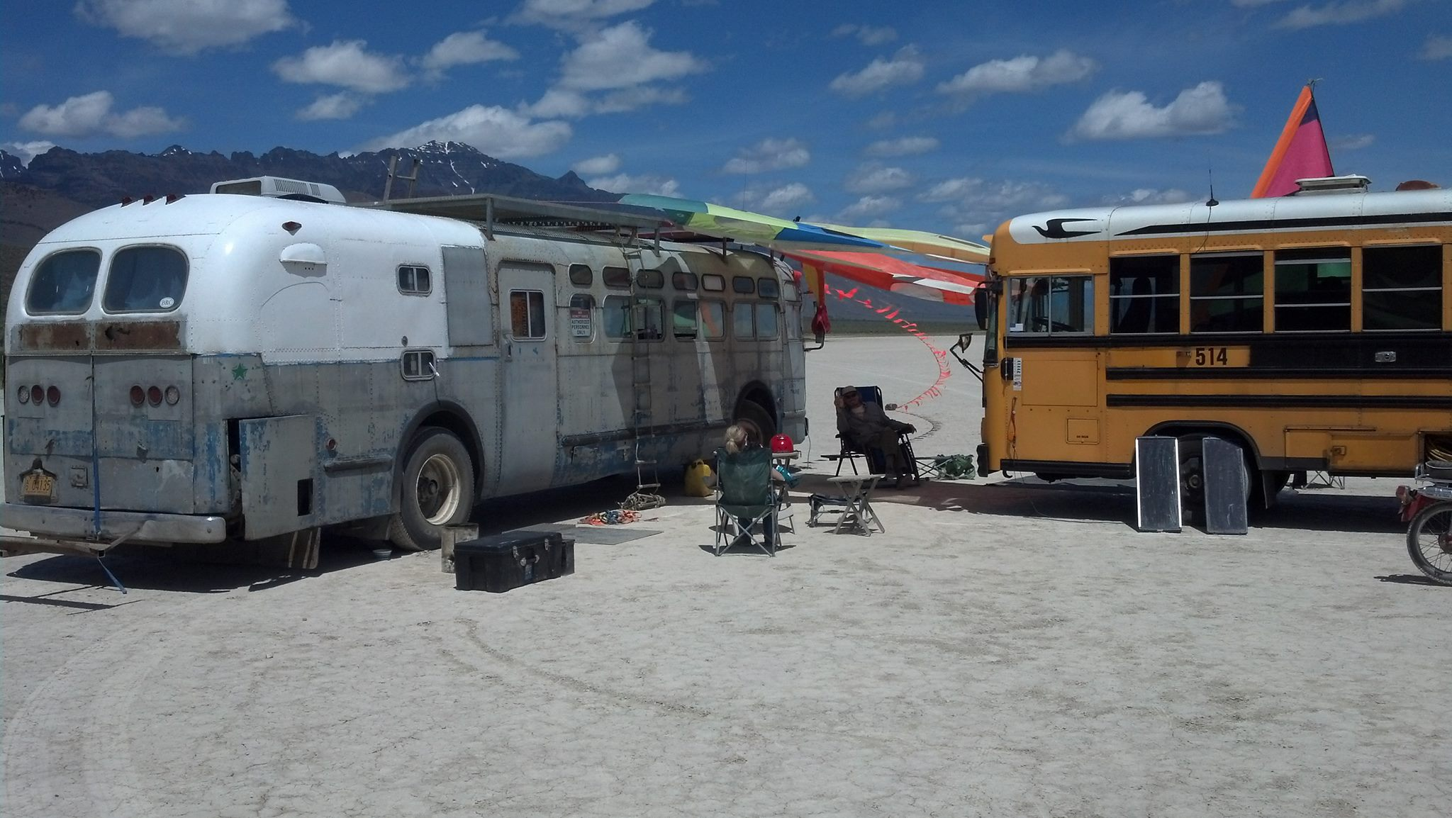 Camp all set up!